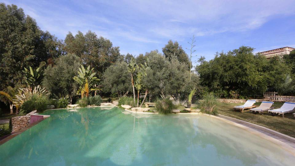 Salle De Bain Jacuzzi Maroc : Villa Toscane