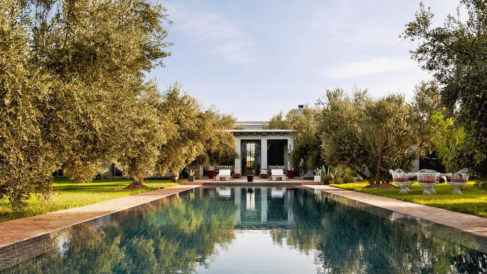 Villa Ouidane Villa Louer Marrakech Palmeraie Et Environs Villanovo