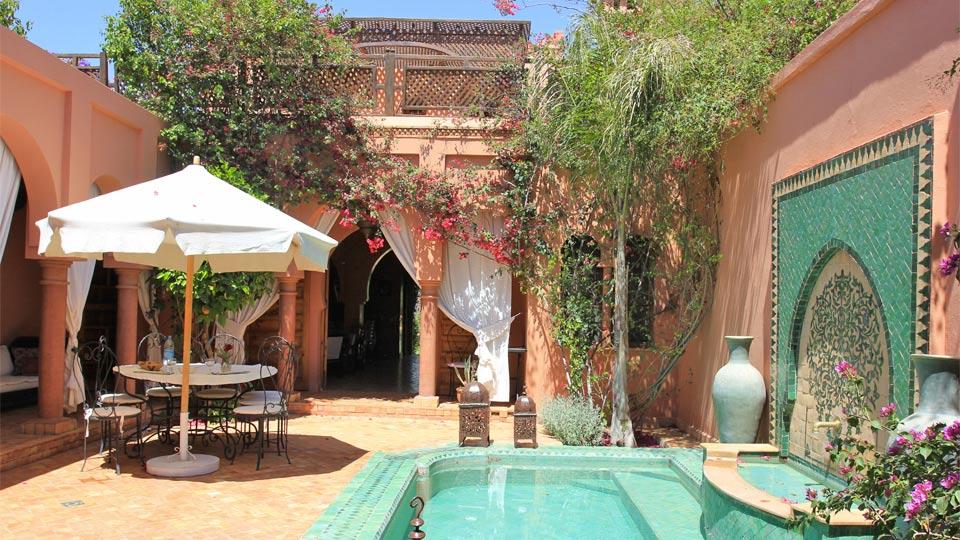 Villa aida 2 villa louer marrakech palmeraie et for Villa des jardins marrakech