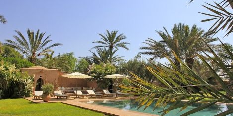 Villa Dar Tella, Location à Marrakech