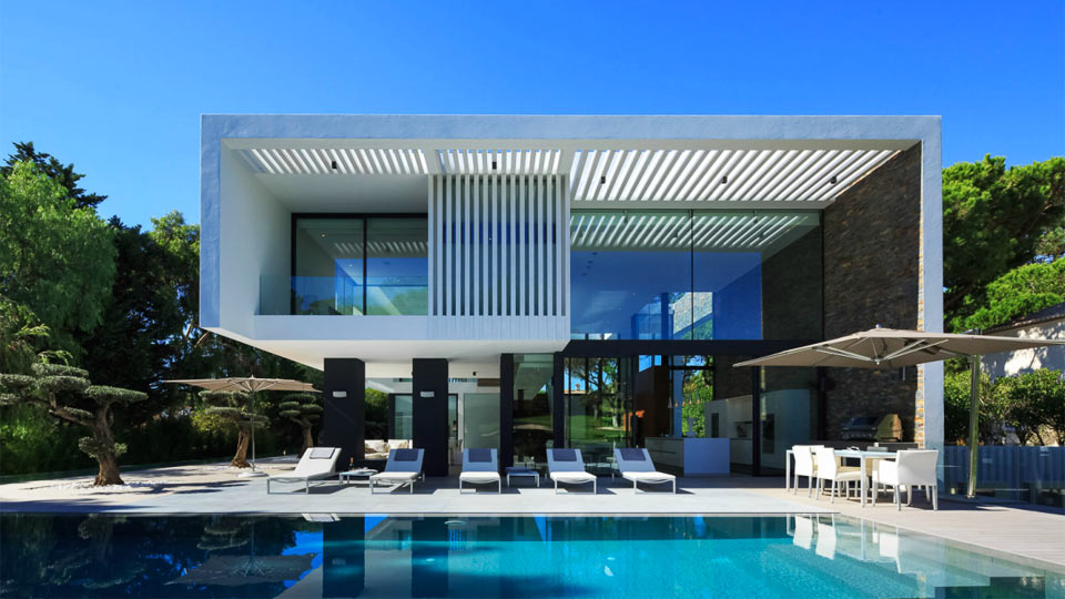 Villa diamond villa louer algarve quinta do lago for Architecture de villa moderne
