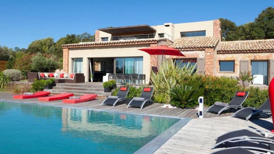 Villa chiara villa louer corse porto vecchio - Location villa avec piscine corse ...