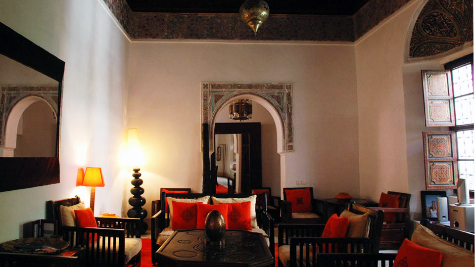 VillaNovo - Riad Mabrouka - Living room