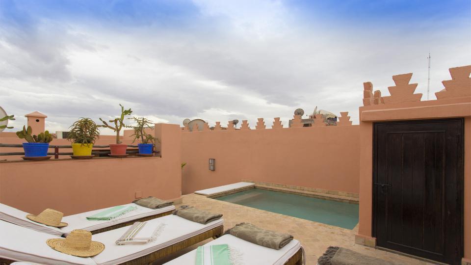 Riad marrakech avec piscine for Riad medina marrakech avec piscine