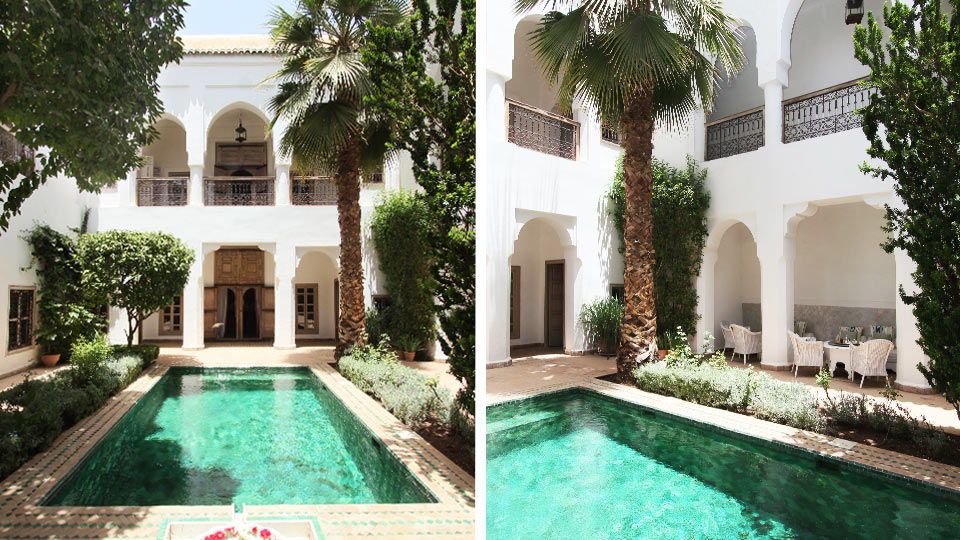 Riad mez marrakech medina 1001 riads marrakech for Riad piscine privee marrakech