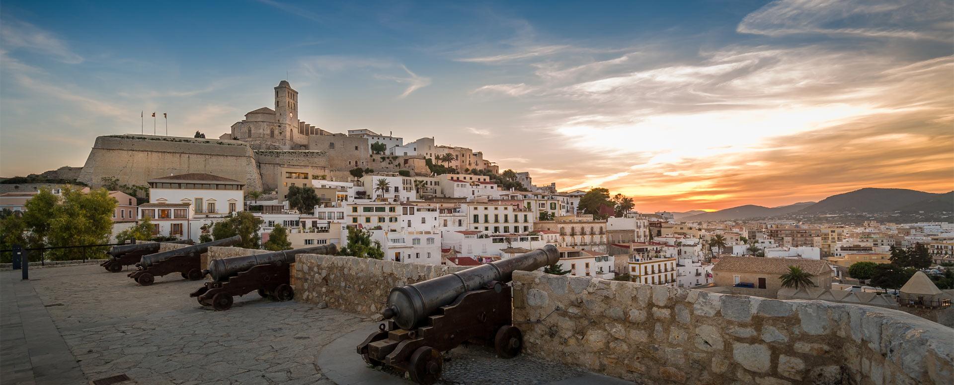 Dalt Vila, the historic heart of Ibiza - Ibiza