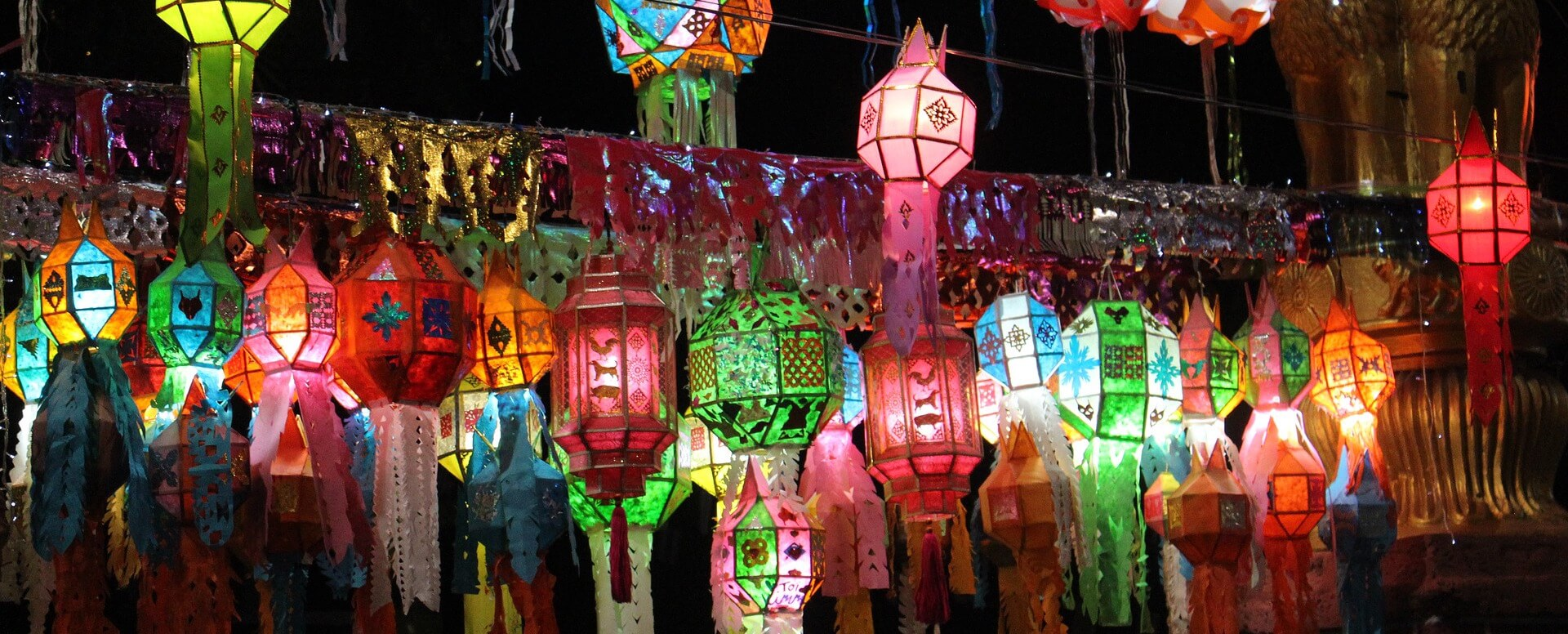 Des fêtes de rassemblement colorées - Thaïlande