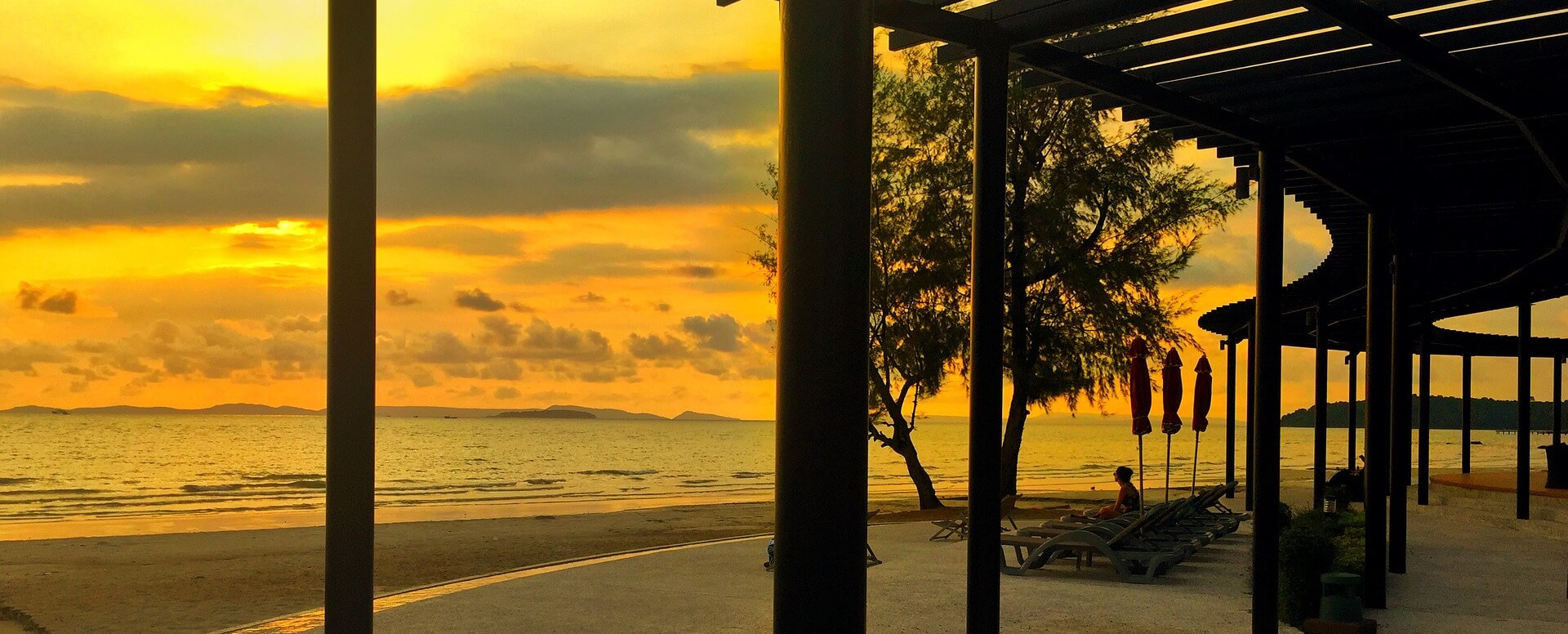 Relaxation in Sihanoukville - Cambodia