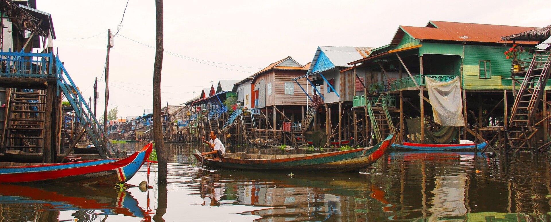 Cruise on the Lakes - Cambodia