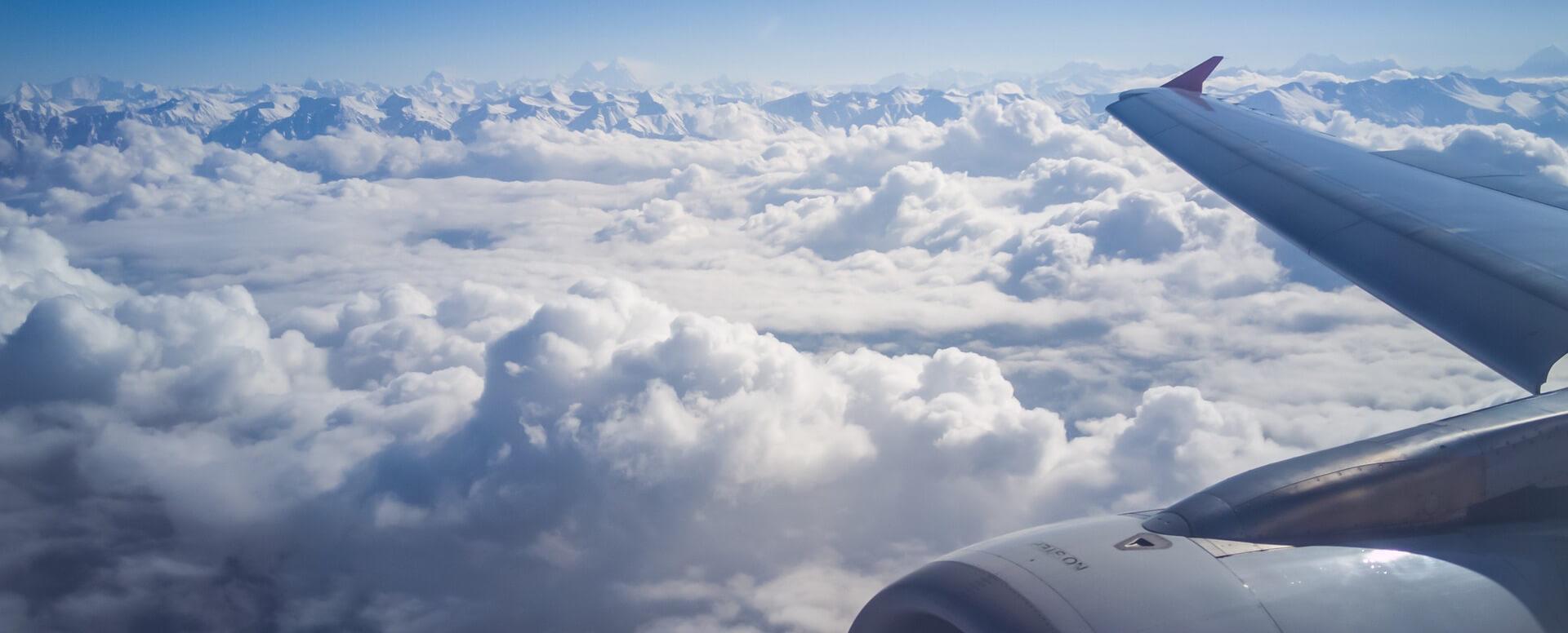 En avion - Île de Ré