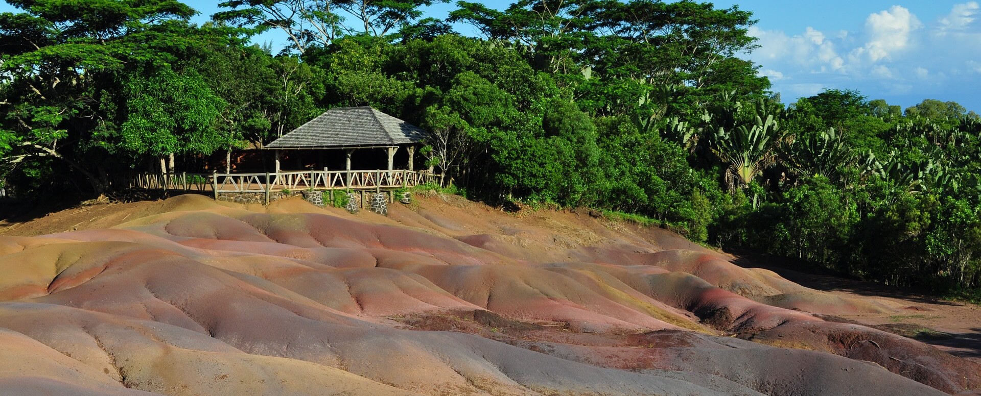 6. Discover the Coloured Earths of Chamarel - Mauritius