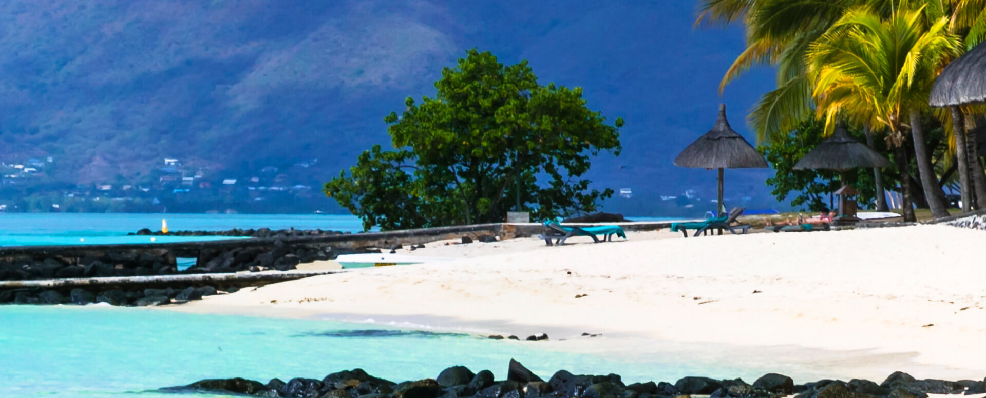 2. Bask in the sunshine on the beautiful beaches - Mauritius
