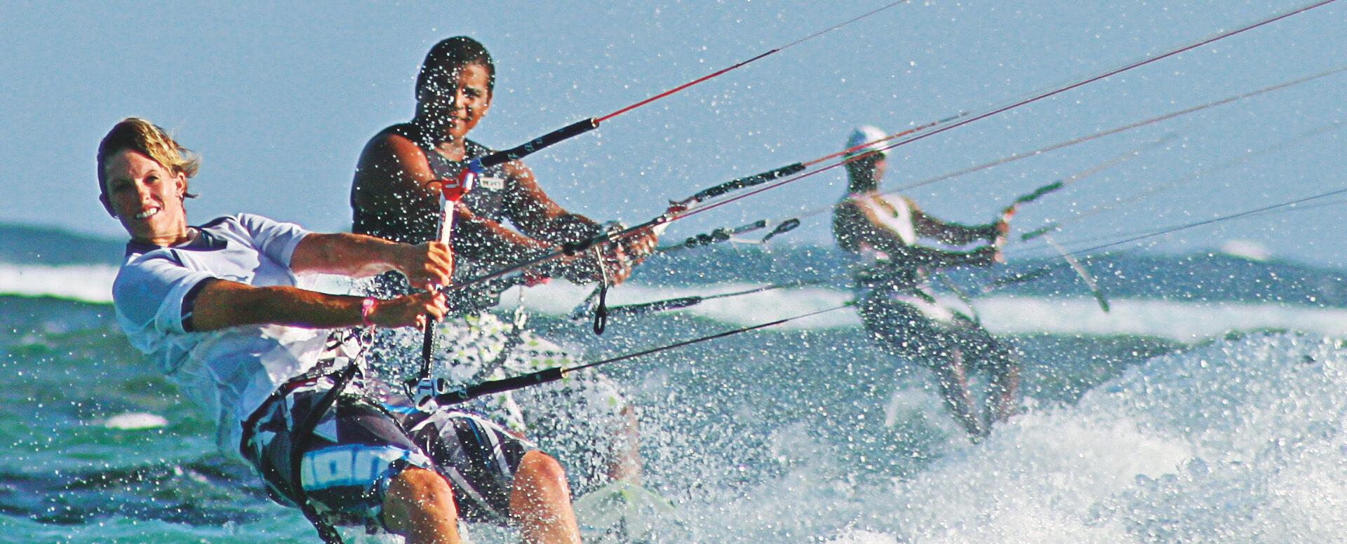 4. Le kitesurf - Île Maurice
