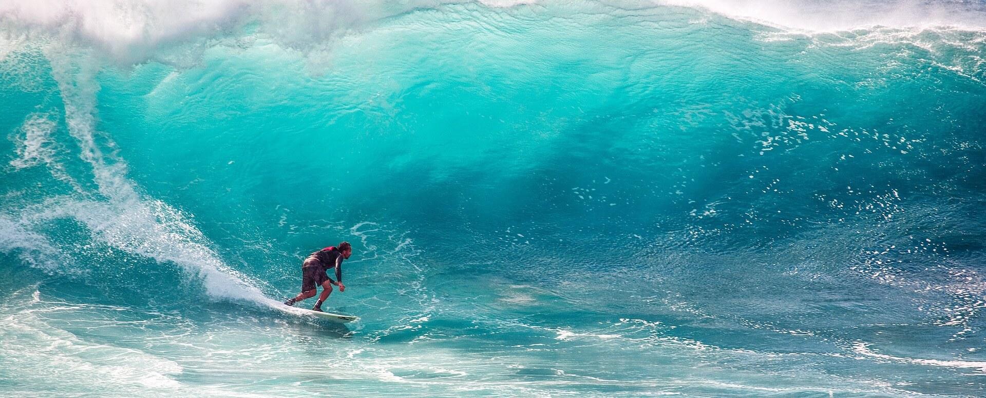 10. Surf - Île Maurice