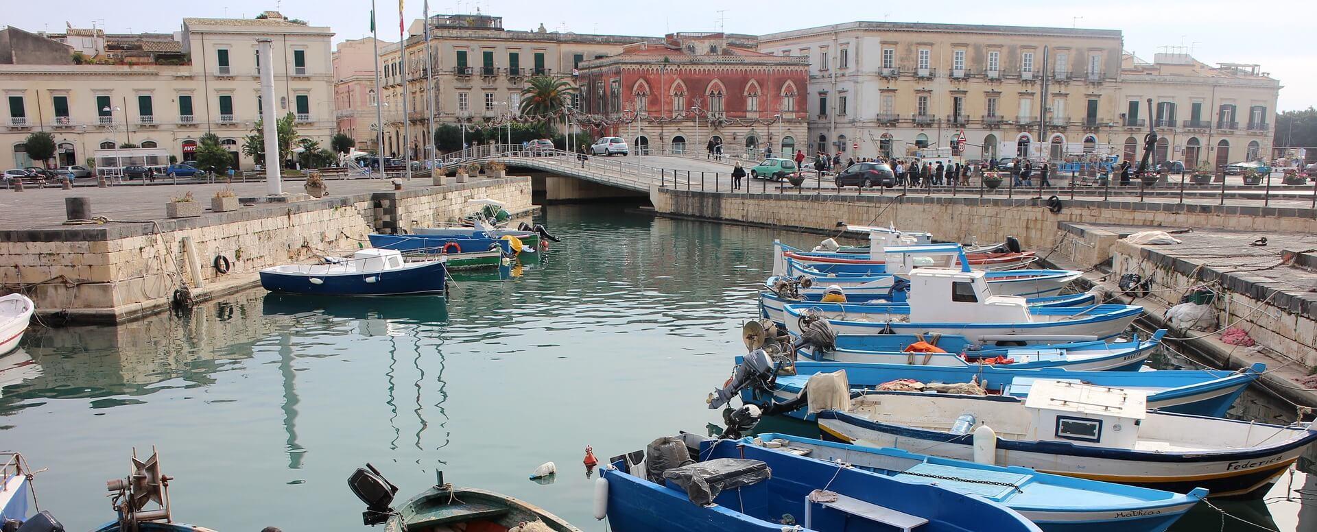 La ville de Syracuse - Sicile