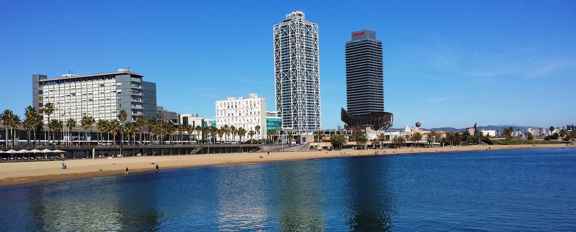 6 - Passer dans le quartier de Barceloneta - Barcelone