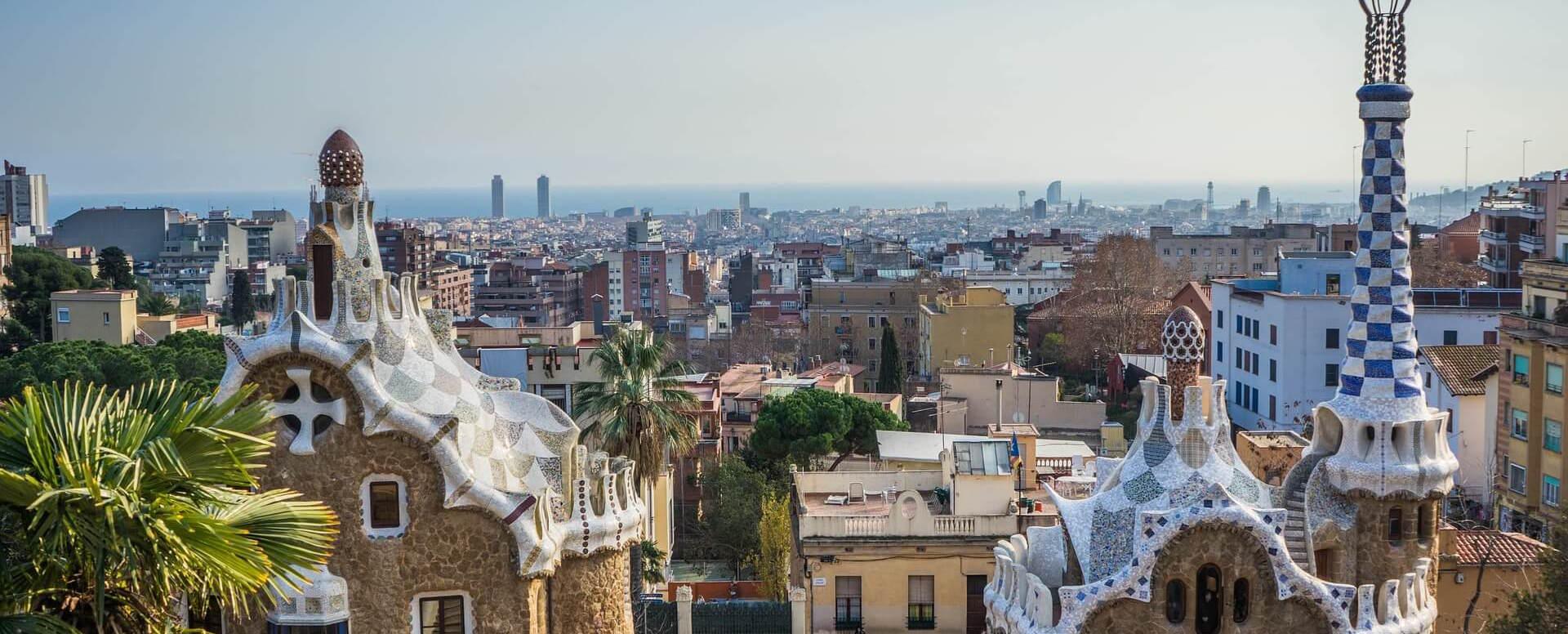 2 - Visite guidée au parc Güell - Barcelone