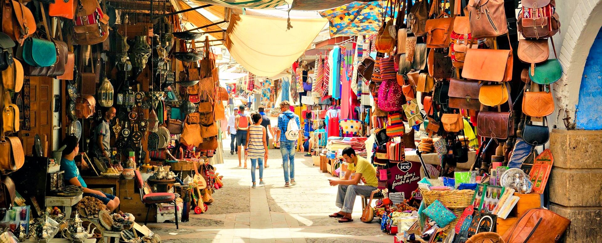 Trouvez votre bonheur dans les souks - Marrakech