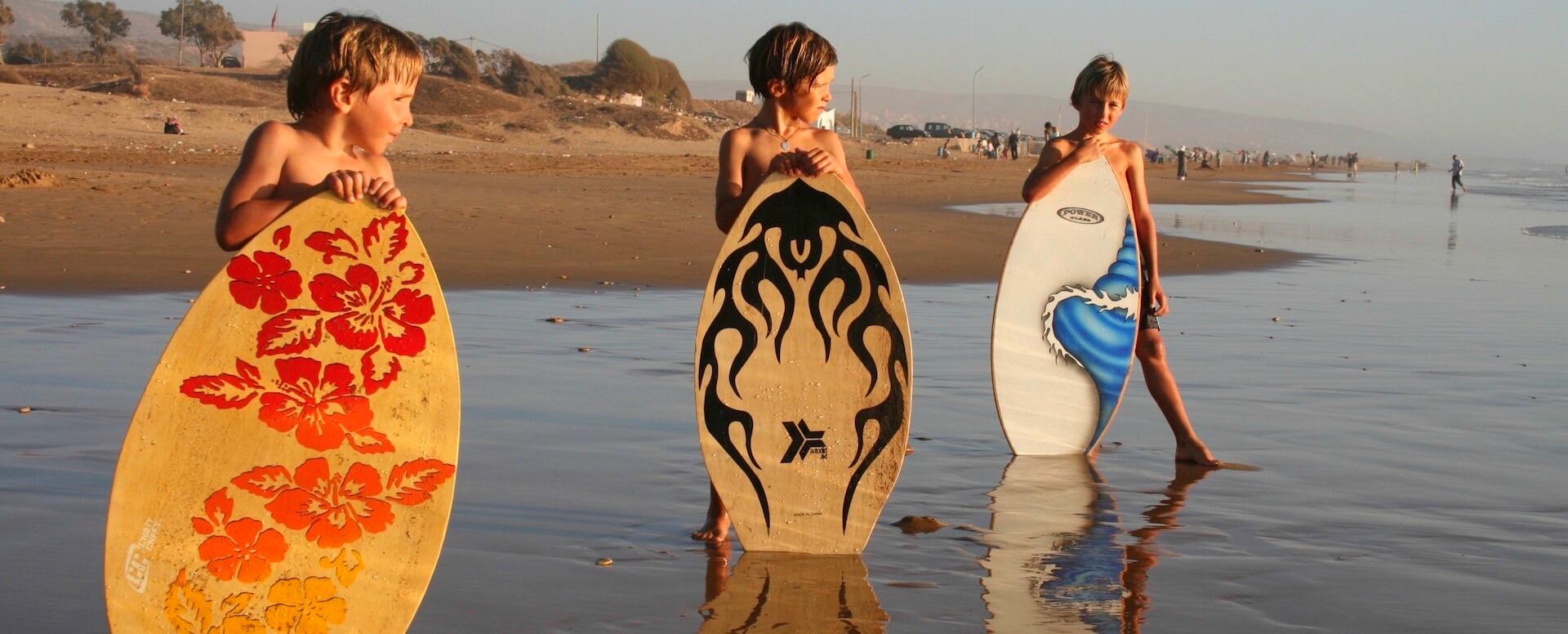 2. S'amuser à essayer différents sports - Essaouira