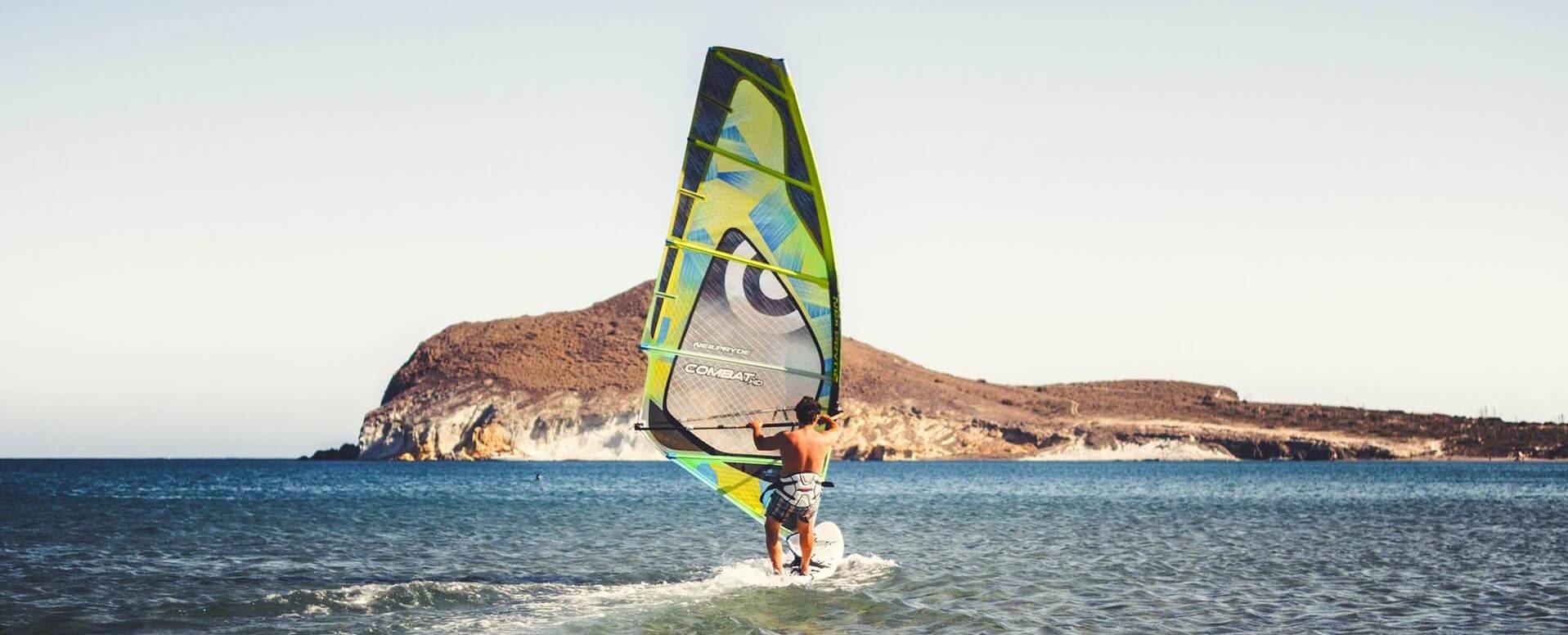 Virées en planche à voile - Ibiza