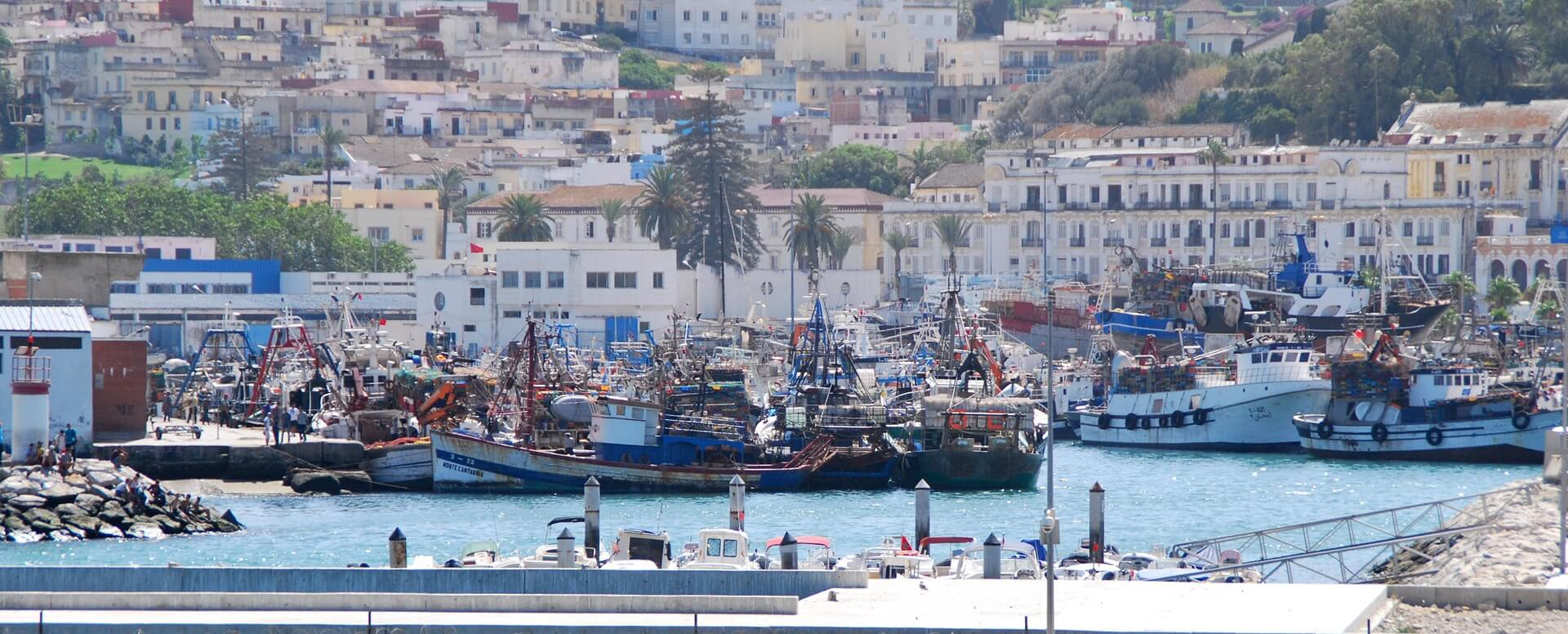 2. The city of Tangier - Morocco