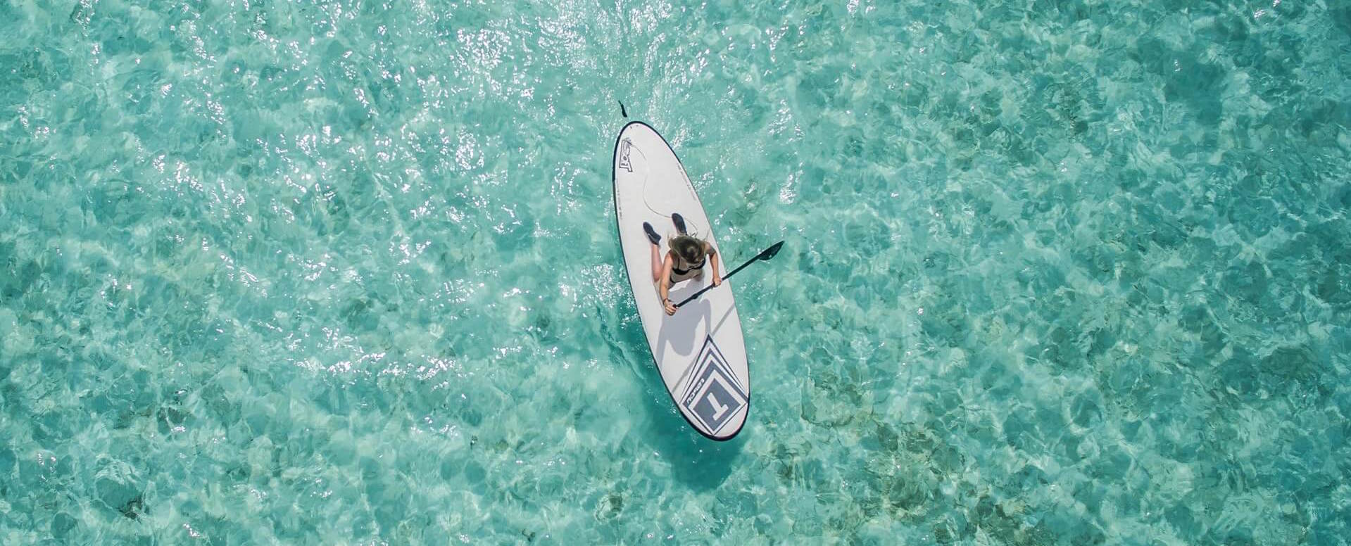 Stroll on the water in Stand Up Paddle - Algarve