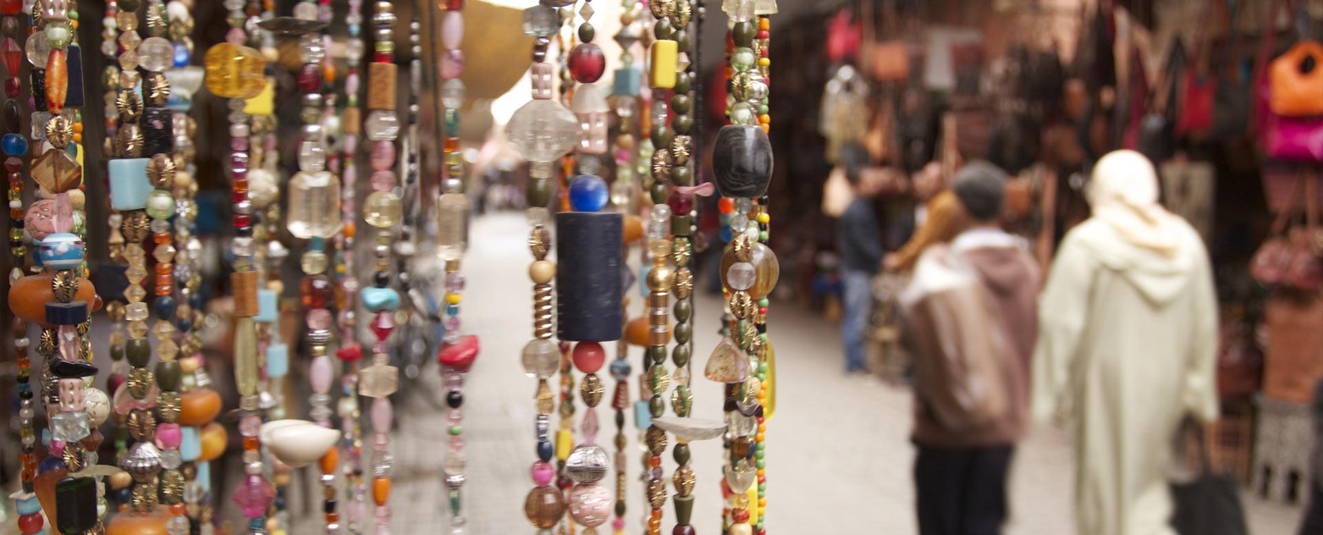 4. Flâner dans la médina et faire des achats dans les souks - Marrakech