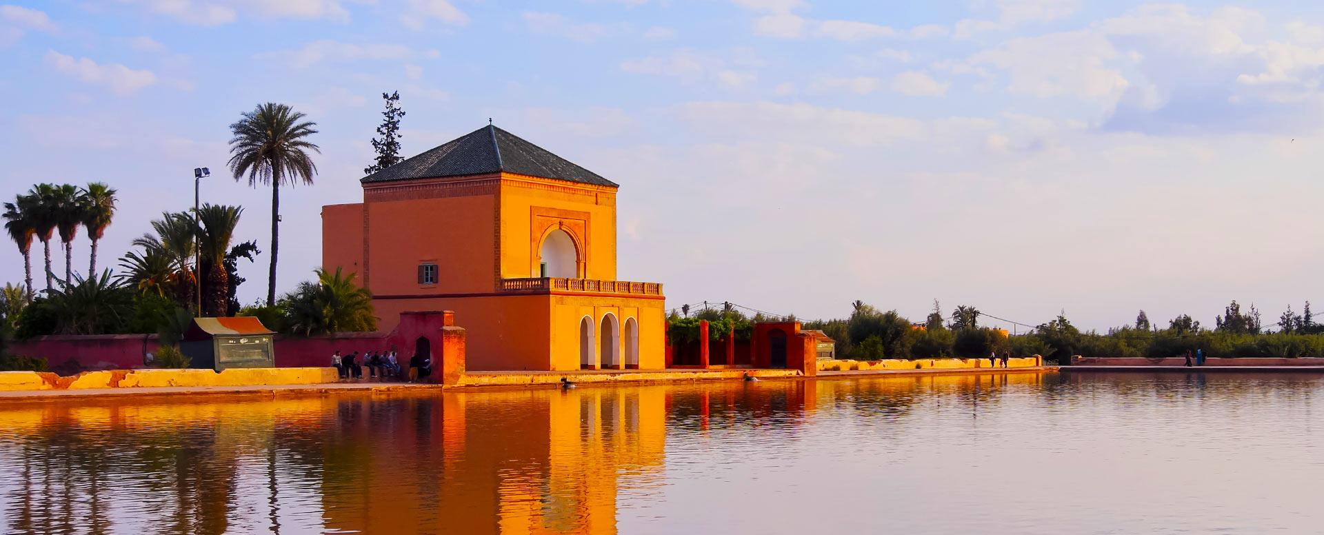 10. Faire une balade romantique dans la Ménara - Marrakech