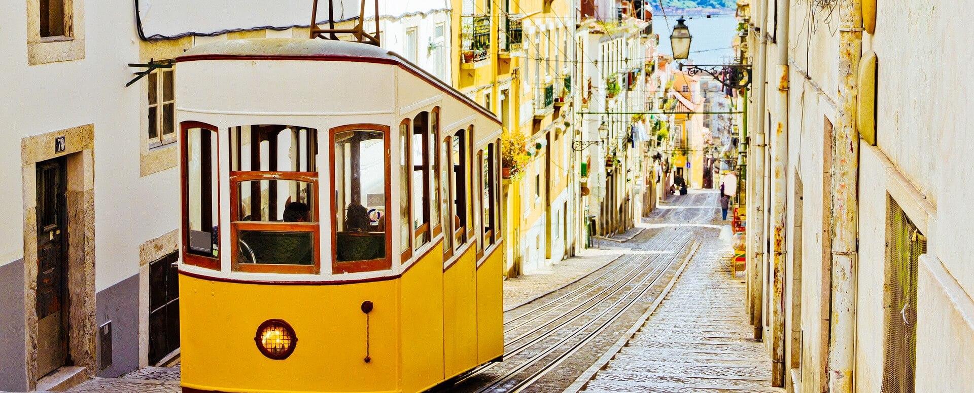 2. Tram #28 - Lisbon