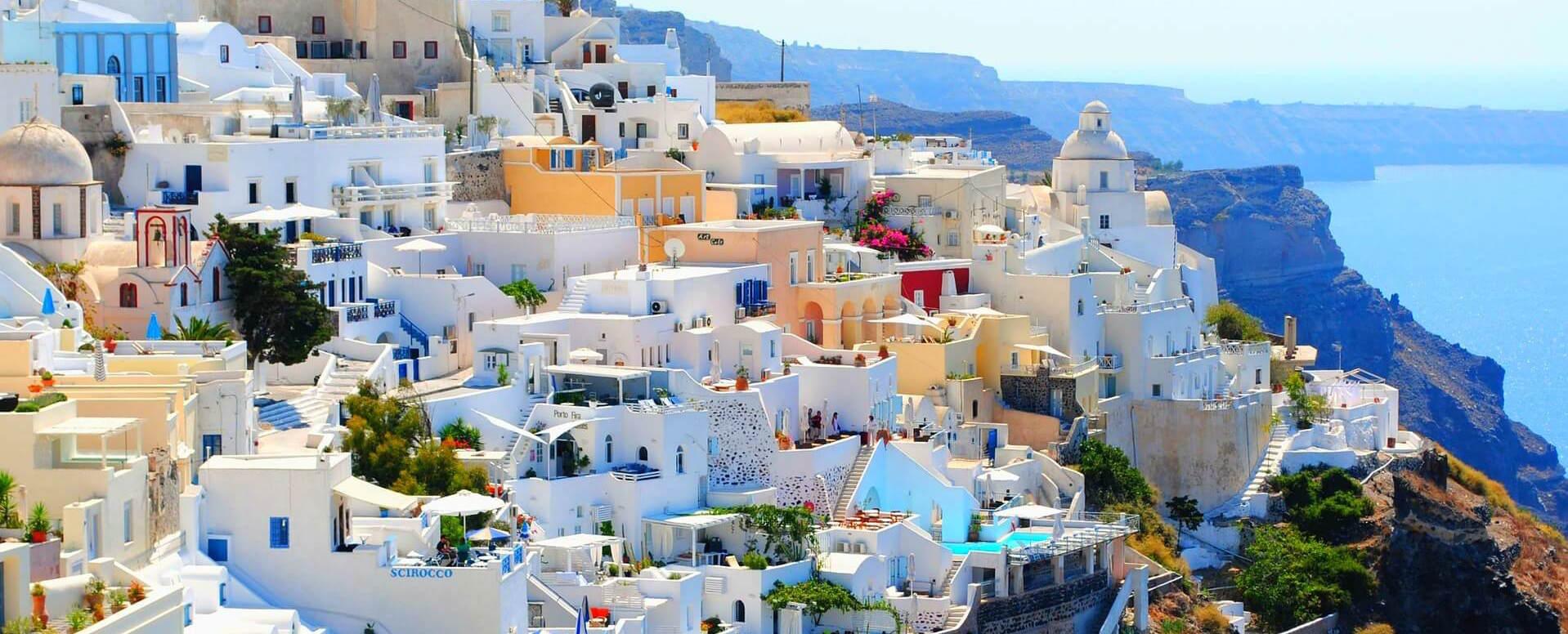 SANTORINI - Cyclades - Autres îles