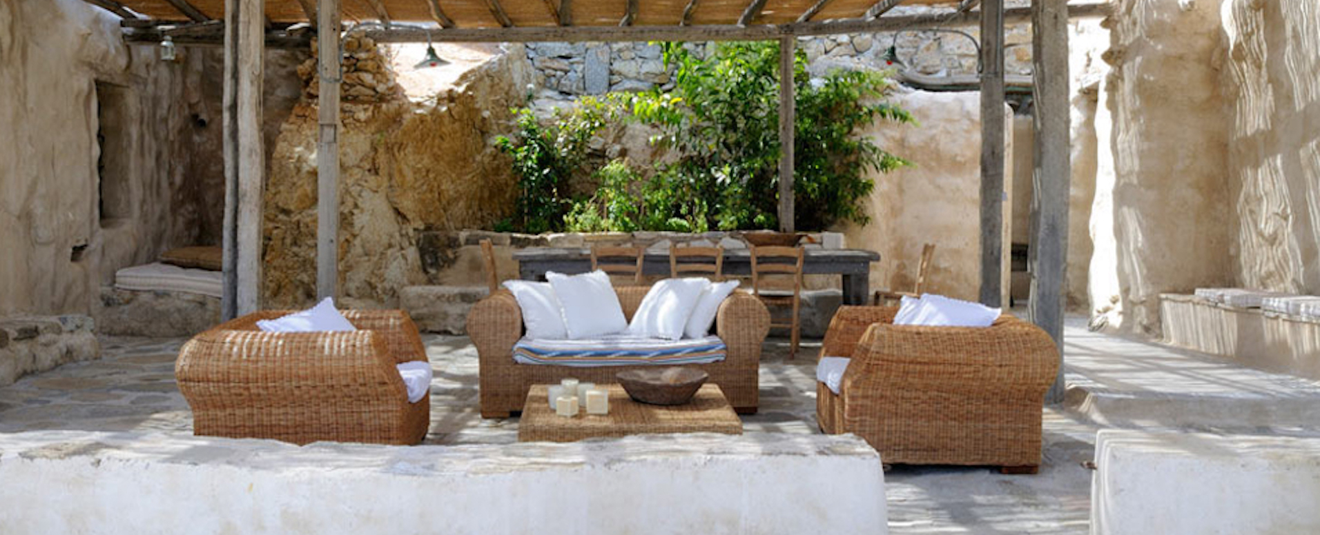 10. Louer une superbe villa avec Villanovo - Cyclades - Autres îles