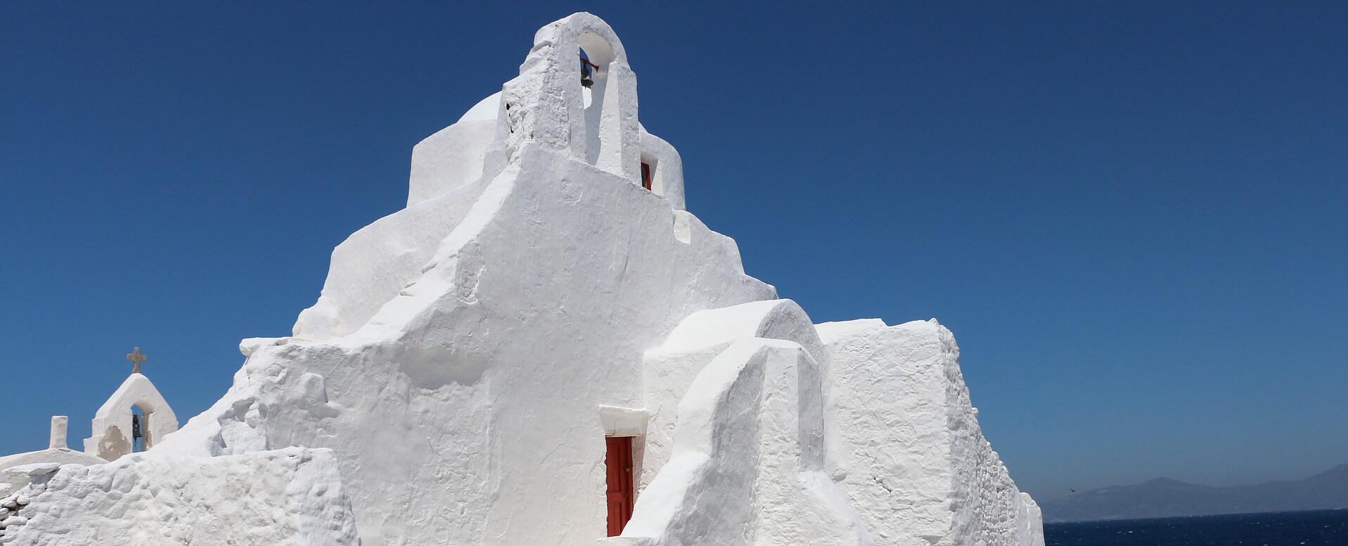 Eglise de Paraportiani - Cyclades - Mykonos