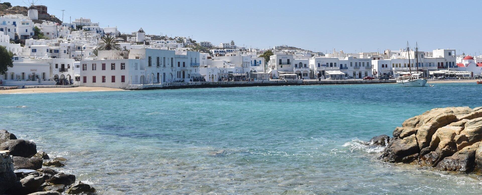 Les plages - Cyclades - Mykonos