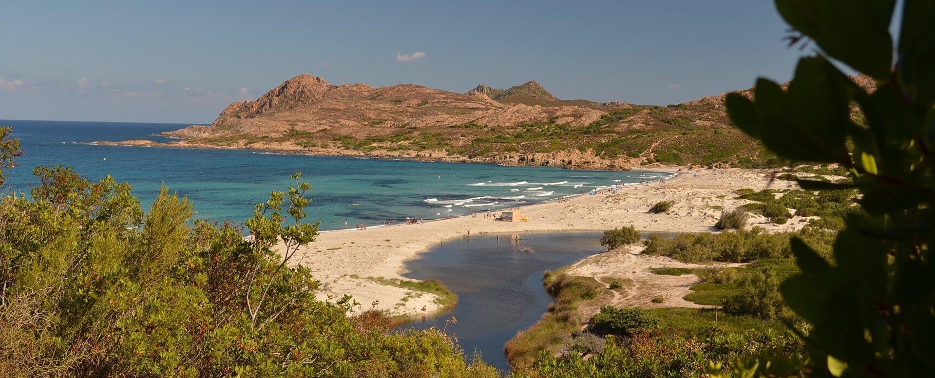 Les plages - Corse