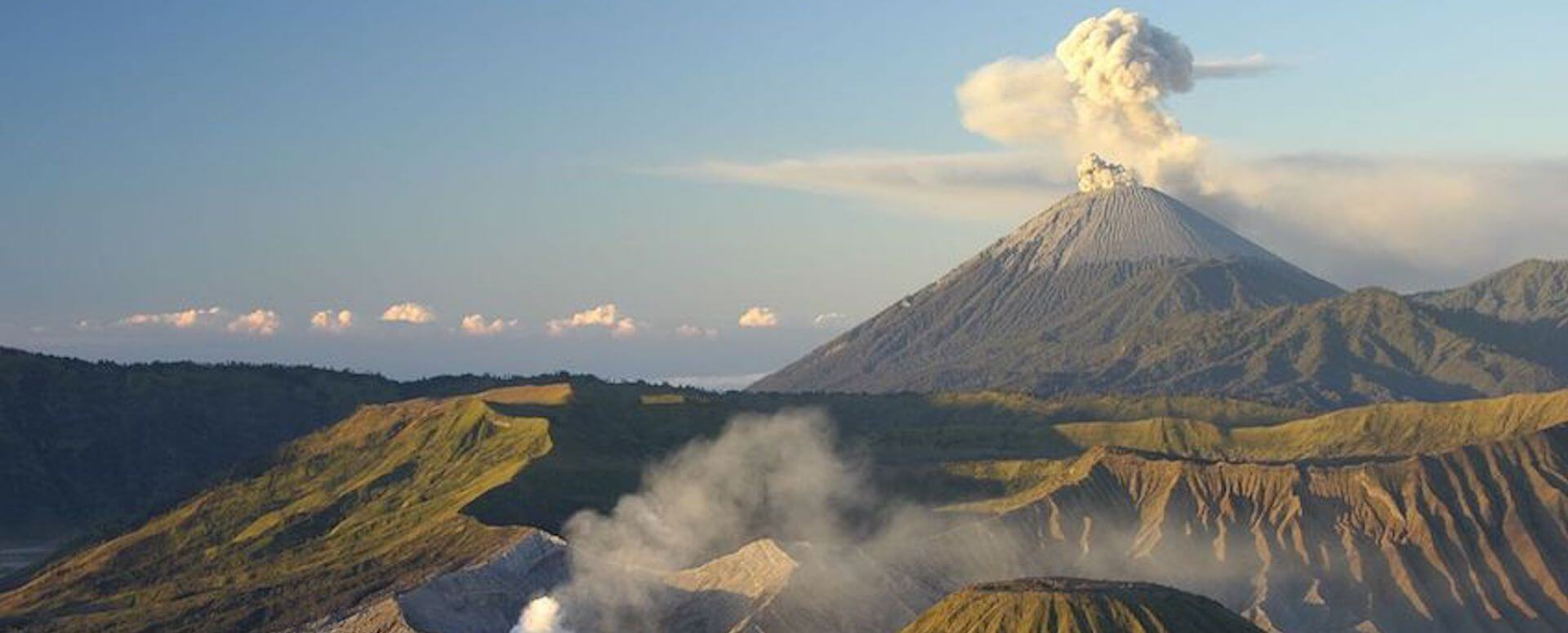 Majestic volcanoes - Indonesia