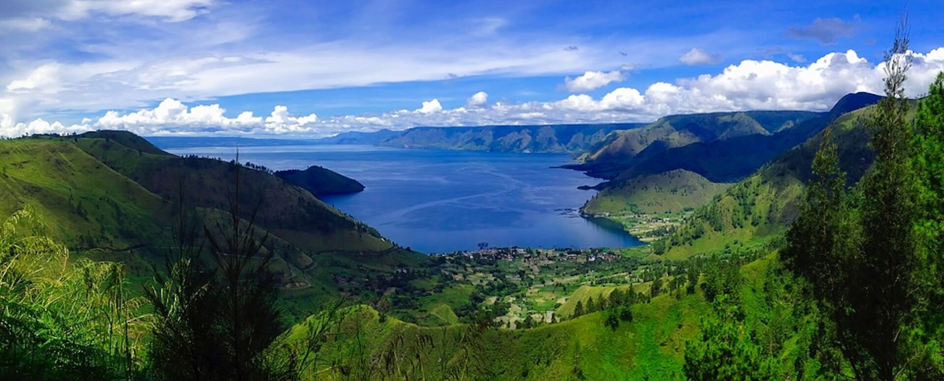 Grand lakes and rivers - Indonesia