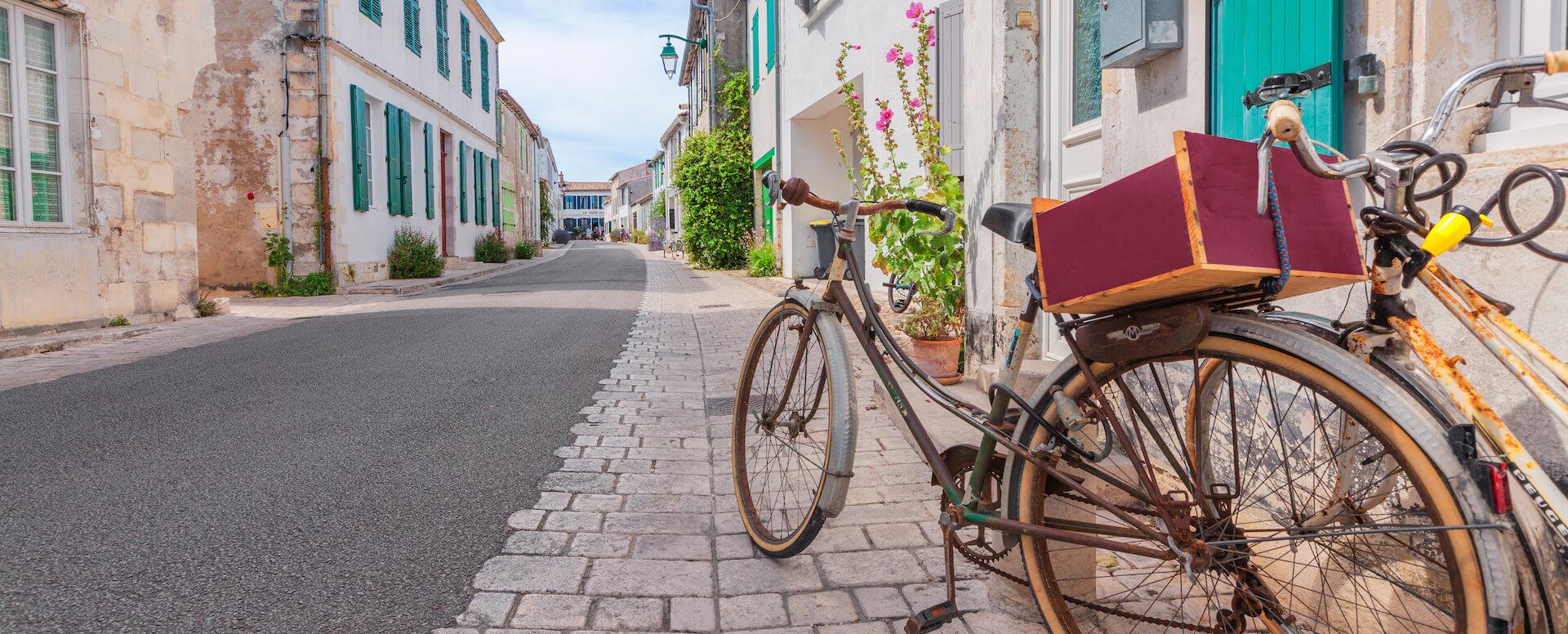 La bicyclette : le moyen de transport phare - Île de Ré