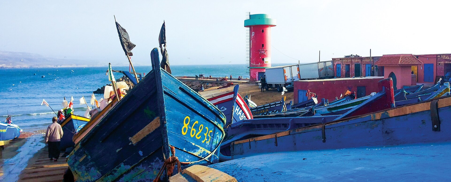 A boat tour - Essaouira
