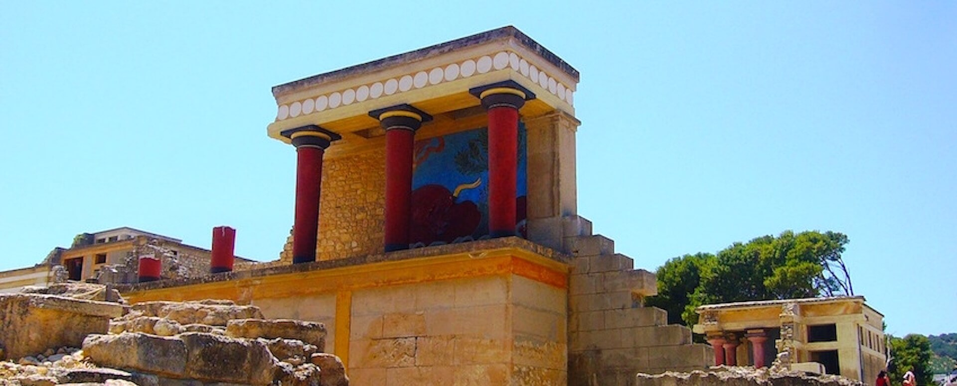 3- Visitez le Palais de Cnossos - Crete