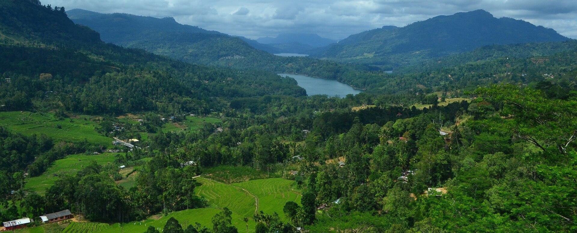 10. Contemplating sublime natural settings - Sri Lanka