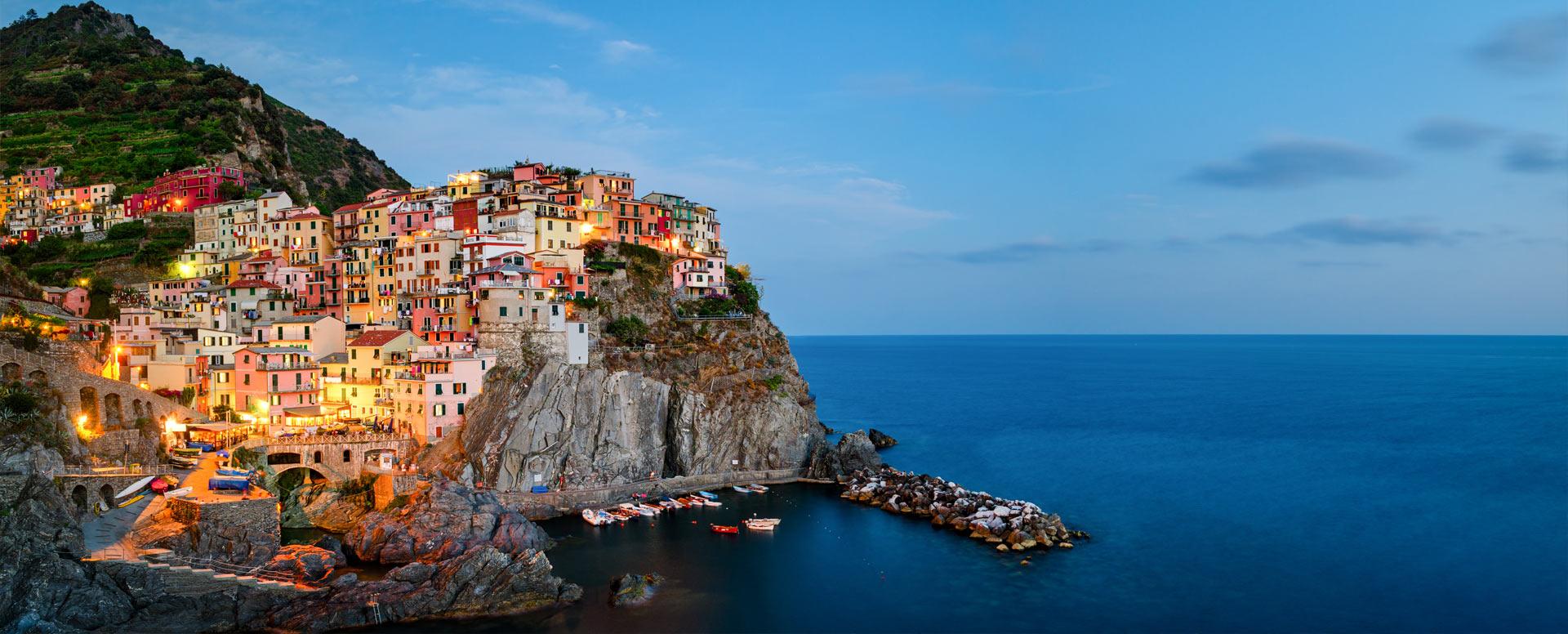 Découverte d'un paysage exceptionnel - Italie