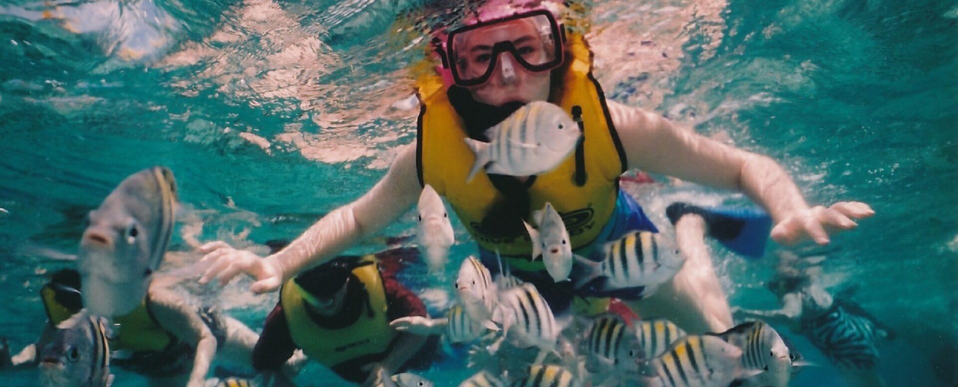 Faire du snorkeling à Akumal, Quintana Roo - Mexique
