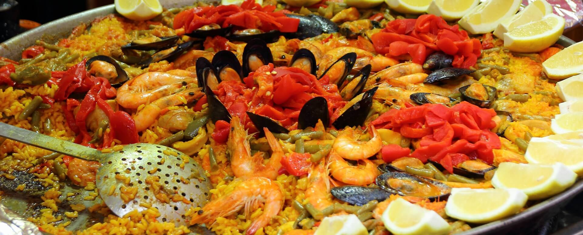 Internationally renowned dishes - Spain