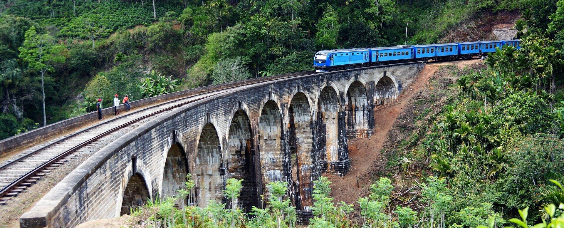 Un voyage en train - Sri Lanka