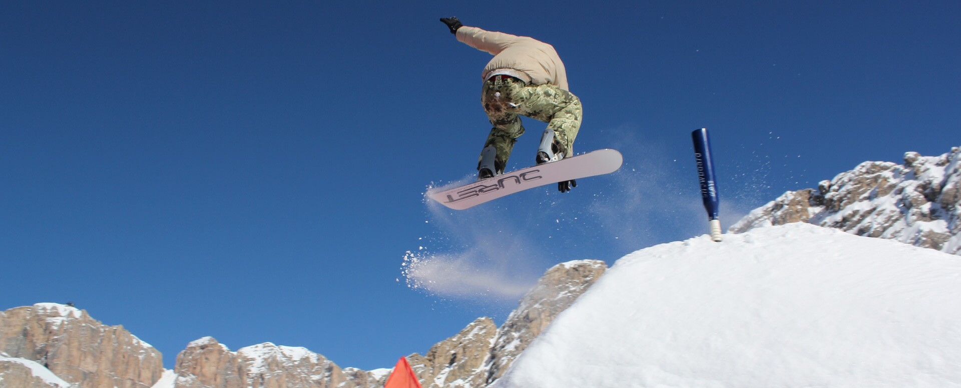 Faire du snowboard - Italie