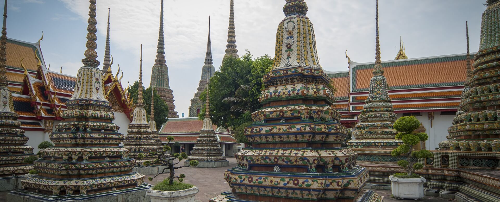 Visiting the Buddhist Temples - Thailand