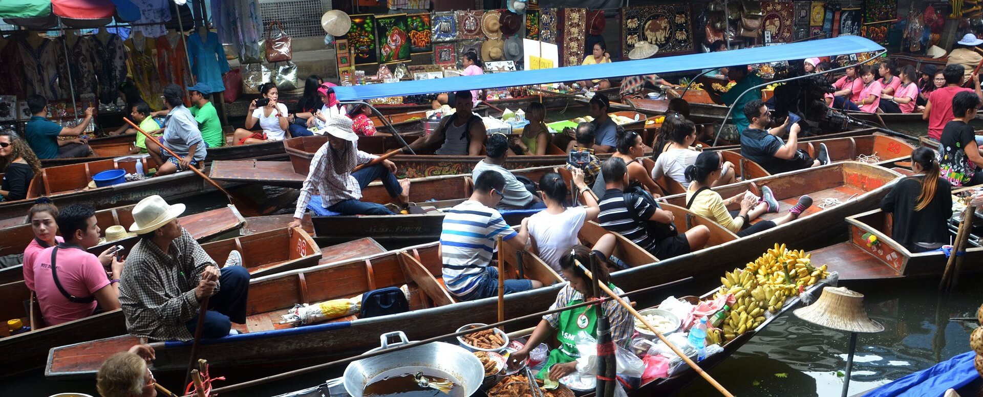 Discover the Floating Markets - Thailand