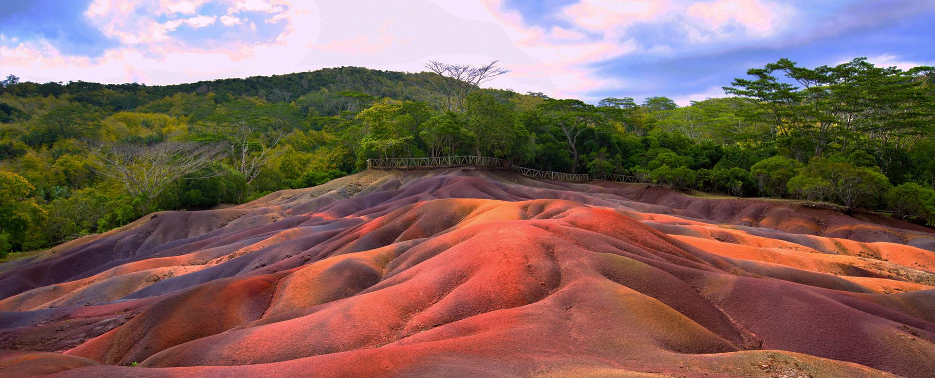 S'étonner de la nature à Chamarel - Île Maurice