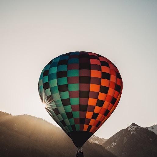 Balloon trip above Marrakech