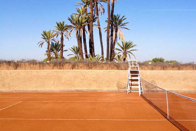 Location villas tennis